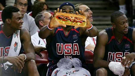 LeBron James Sub